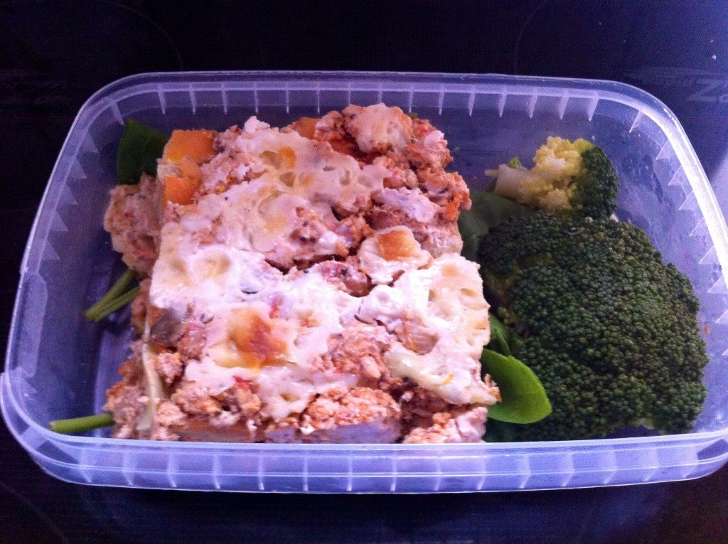 MuscleFood Turkey & Sweet Potato Lasagne