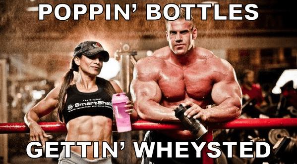 poppin bottles gettin wheysted