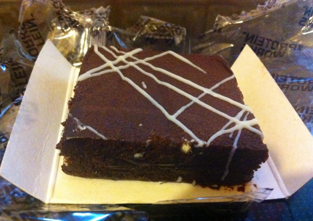 The Protein Works Luxury Protein Brownie