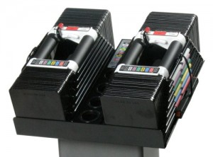Powerblock Elite 90 adjustable dumbbells