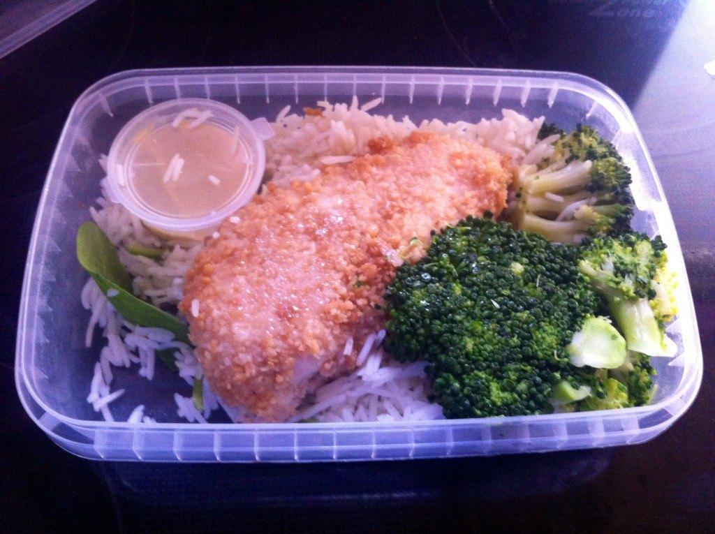 MuscleFood Crispy Chicken with Dijon Mustard & Rice