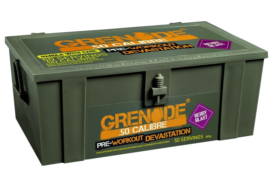 Grenade 50 Calibre Preworkout Review