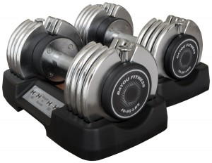 Bayou Fitness Pair adjustable dumbbells