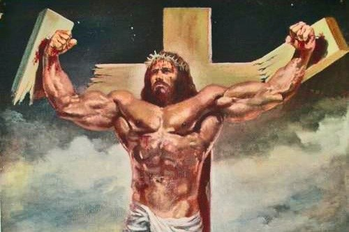 jesus christ bodybuilder