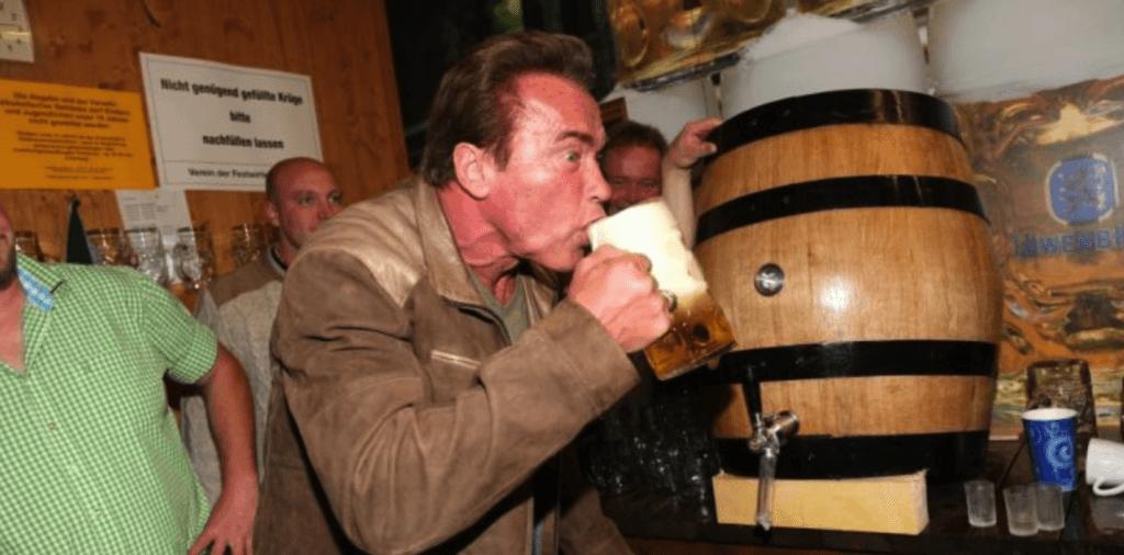 arnold schwarzenegger beer