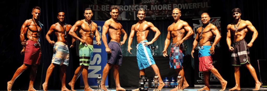 men's physique category