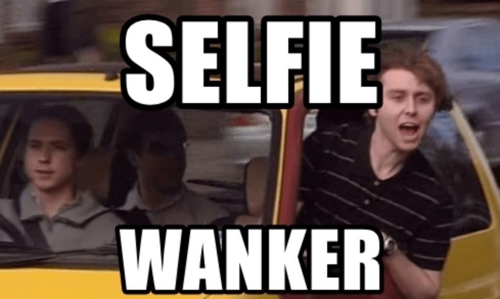 selfie wanker