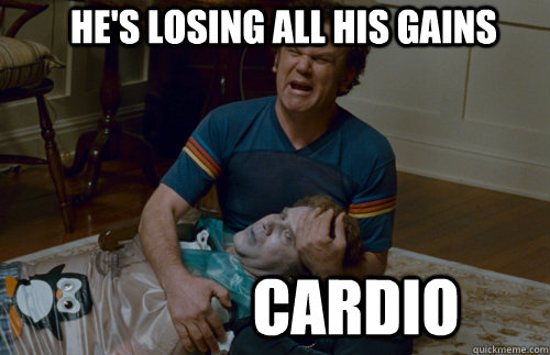 cardio step brothers meme