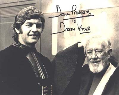 David Prowse Star Wars Signature
