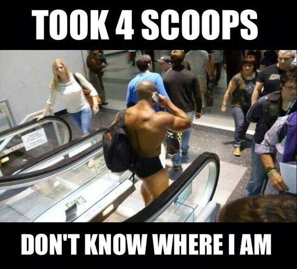 pre workout meme