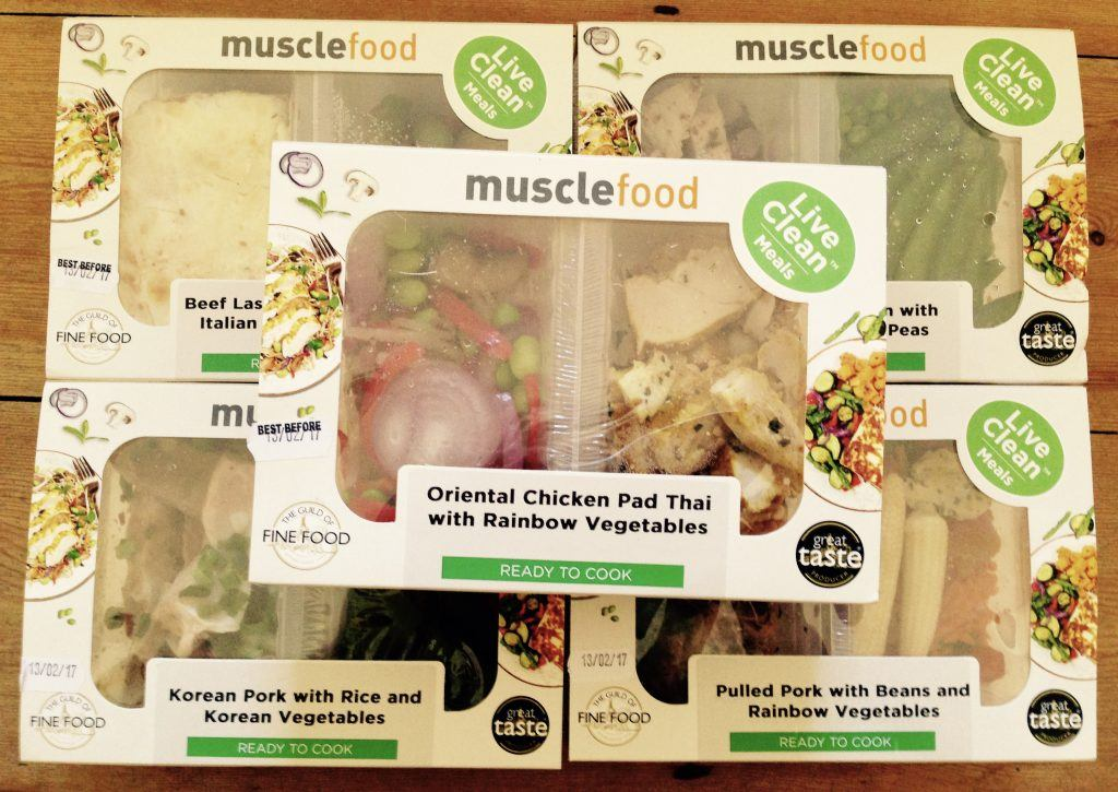 musclefood live clean meals