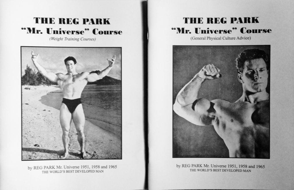 Reg Park Mr Universe Course