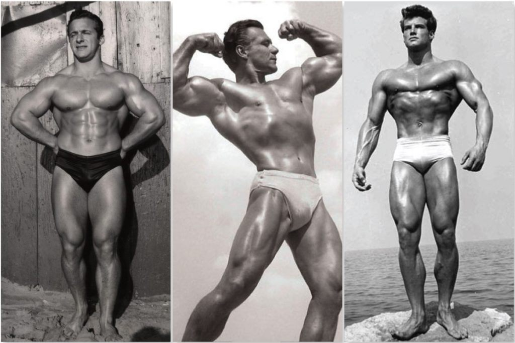 old school bodybuilders