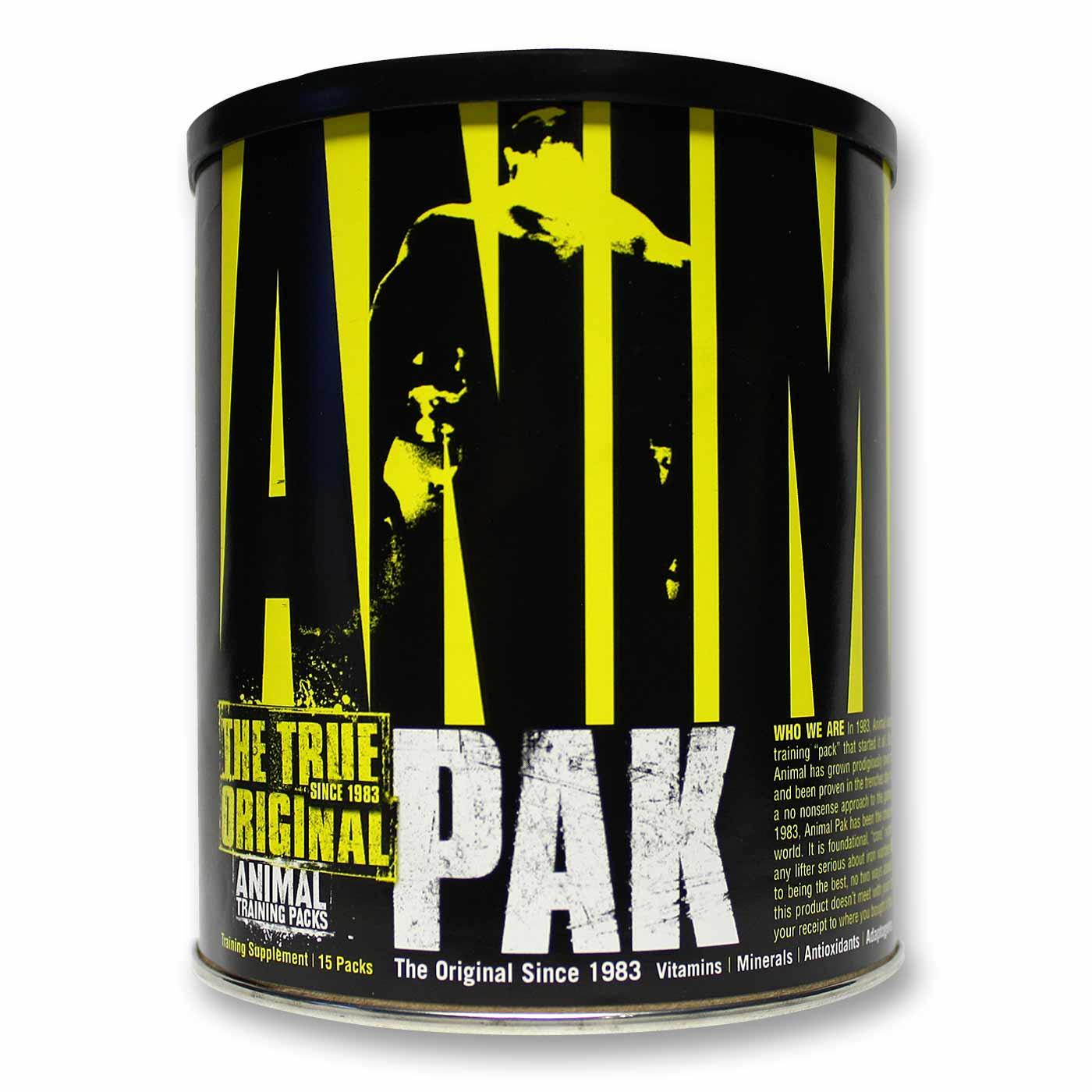Universal Nutrition Animal Pak Stacks Animal Pak Review | Universal