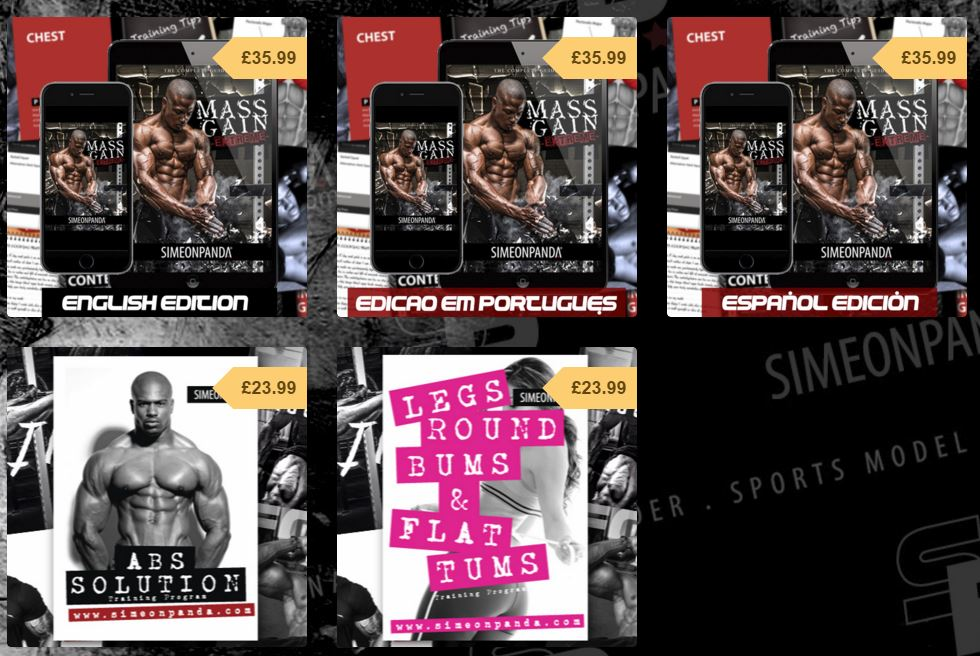 simeon panda cookie cutter programs